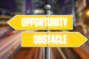 turn obstacles into opportunities